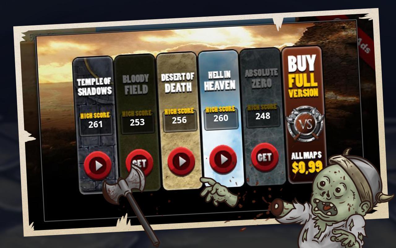 Vikings vs Zombies FREE - screenshot