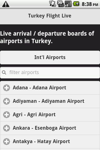 Turkish Flight Live