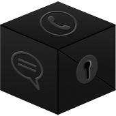 Secret Call&SMS- Black Theme