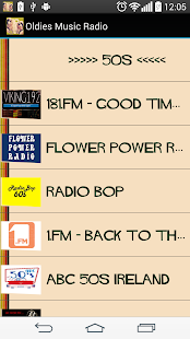 Oldies Music Radio- screenshot thumbnail