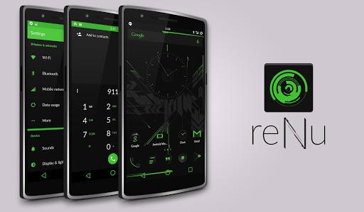reNu Neon Green CM11 CM12
