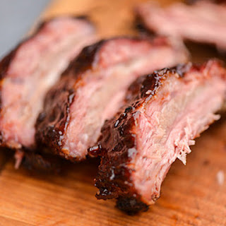 Balsamic Glazed Baby Back Ribs