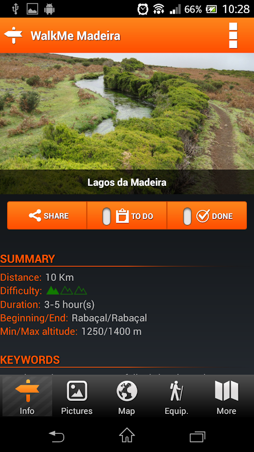 WalkMe | Levadas Madeira - screenshot