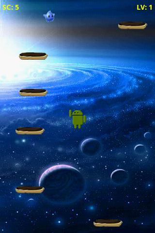 DroidJump- screenshot
