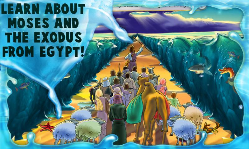 Moses - Kids Bible Story Book - screenshot