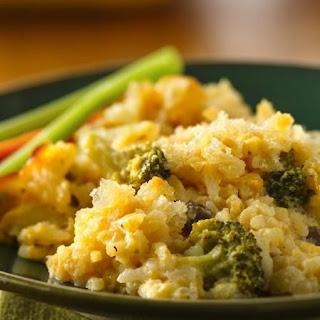 Cheesy Broccoli-Rice Bake.
