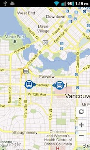 LiveTransit Vancouver - screenshot thumbnail