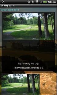 Golf Journal screenshot
