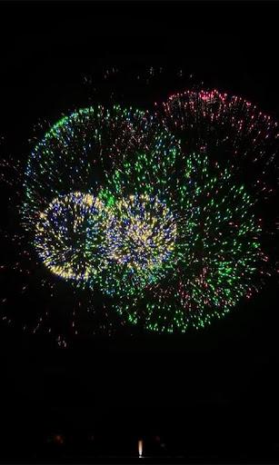Fireworks Live wallpaper