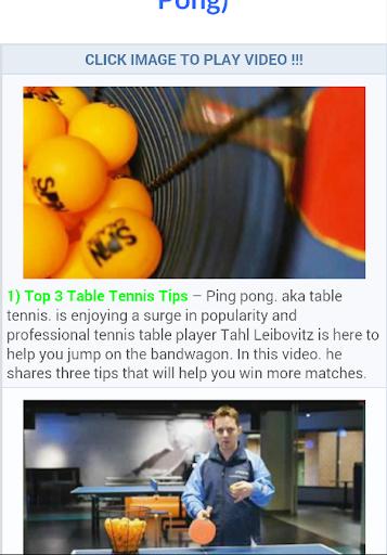 Ping Pong Tutorial