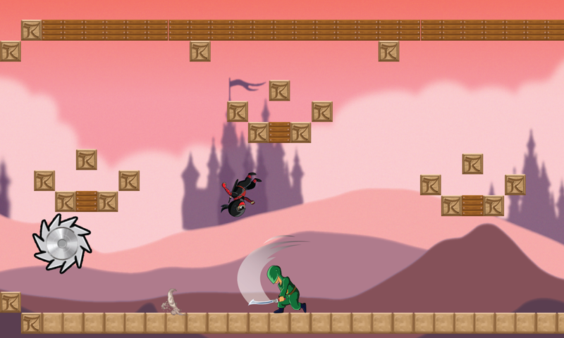 Ninja Dash free- screenshot