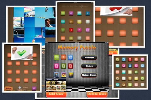 Memory Puzzle- screenshot