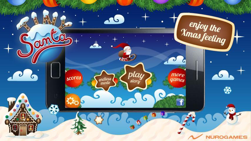 Tiny Santa - Xmas Hills - screenshot