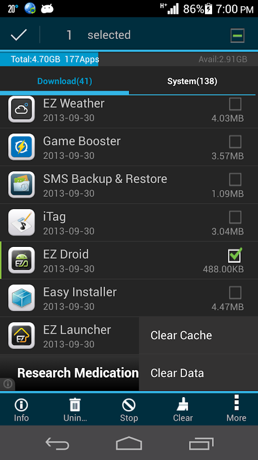App2sd app manager save space android apps on google play for Rearrange my room app