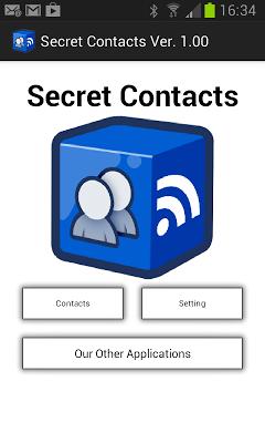 Secret Contacts - screenshot