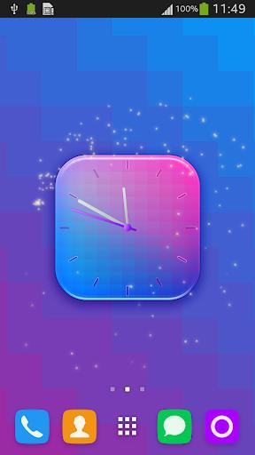 Clock Wallpaper for HTC