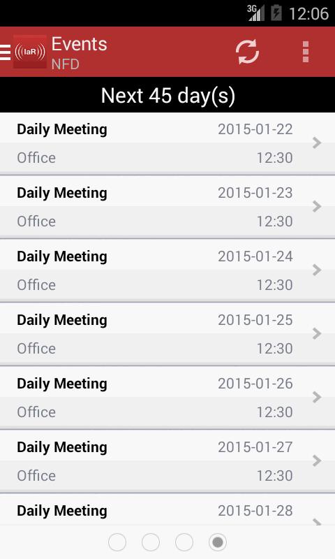 IamResponding (IaR) - screenshot