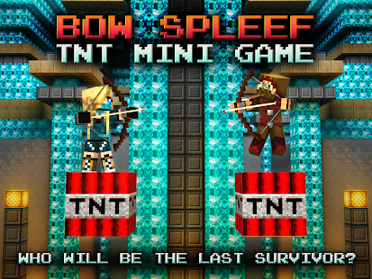 Bow Spleef - TNT mini game