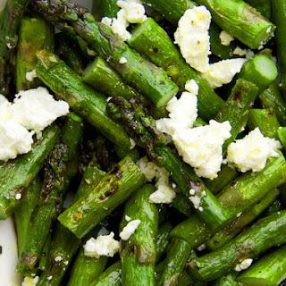 Grilled Asparagus & Feta Salad.