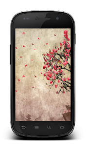 Leaf Lonely Tree LWP- screenshot thumbnail
