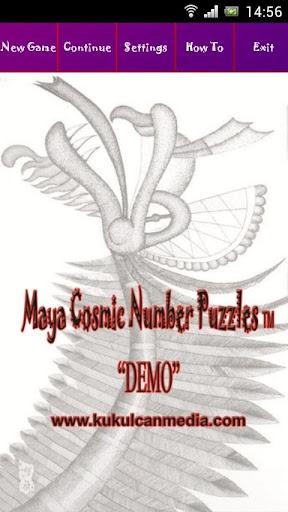 MayaCosmicNumberPuzzles Demo