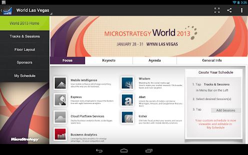 MicroStrategy Mobile - screenshot thumbnail