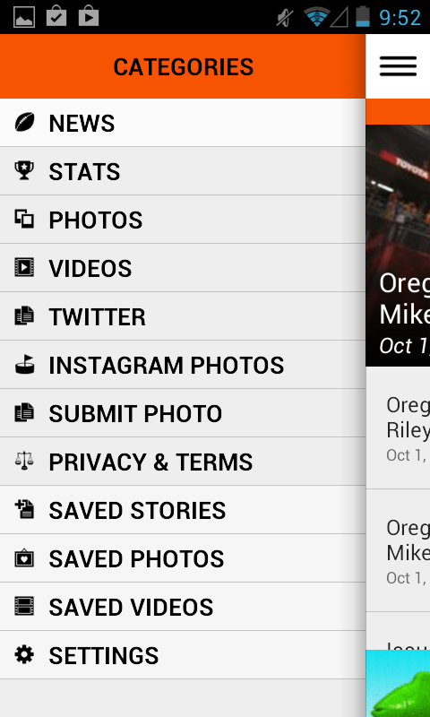 OregonLive: OSU Football News - screenshot