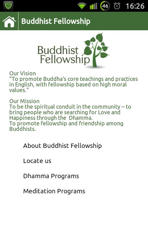 Buddhist Fellowship - screenshot