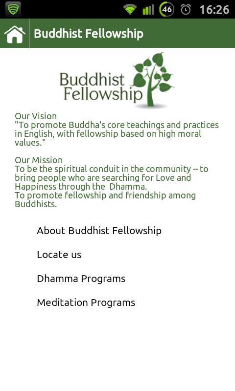Buddhist Fellowship - screenshot