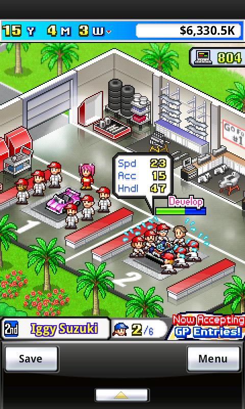 Grand Prix Story- screenshot
