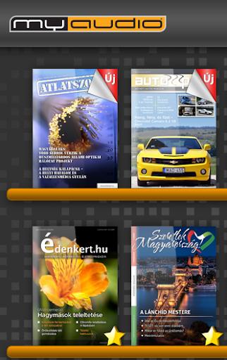 MyAudio Newsstand