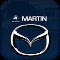 Martin Mazda logo