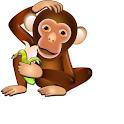 Crazy Banana Monkey Party Roll icon