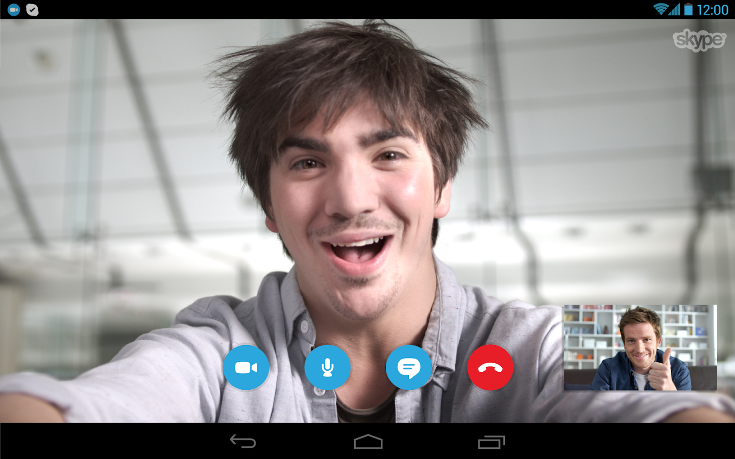Skype - free IM & video calls - screenshot