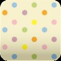 cute polkadots wallpaper ver53 icon