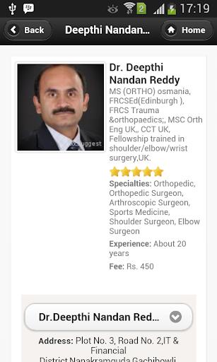 Dr Deepthi Nandan Reddy Appts