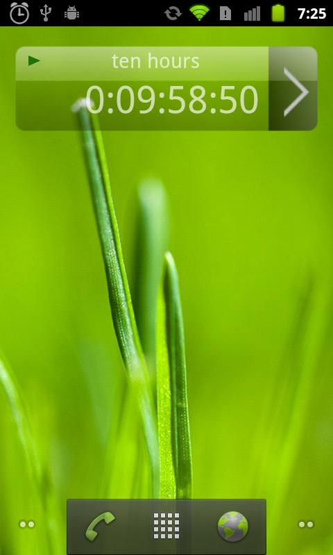 MultiTimer Pro (plus Widget) - screenshot