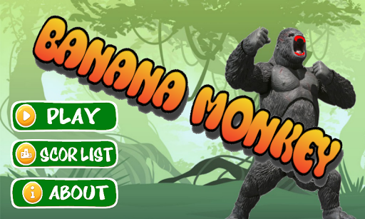 Running Banana Monkey