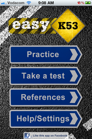 Easy K53 learners license app- screenshot