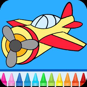 flygplan spel för barn