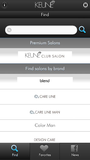 Keune Salon Finder