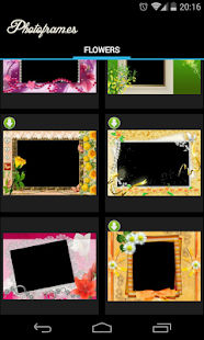 Flowers PhotoFrames Screenshot 2