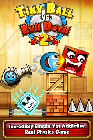 Tiny Ball vs Evil Devil 2 - screenshot