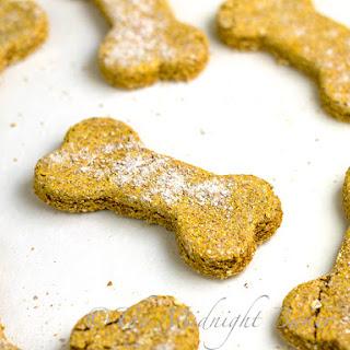 Pumpkin Oat Dog Biscuits
