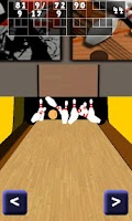 Screenshot of Bowling Alley 3D