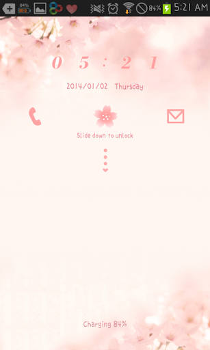 Cherry blossom go locker theme