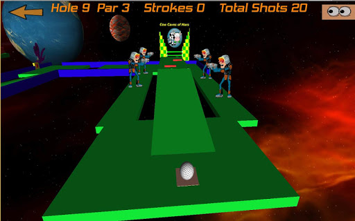 Crazy Golf in Space Pro