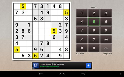 Andoku Sudoku 2 Free - screenshot thumbnail