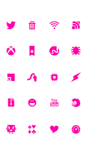 SMPL Pink Theme Go/Nova/Apex - screenshot thumbnail
