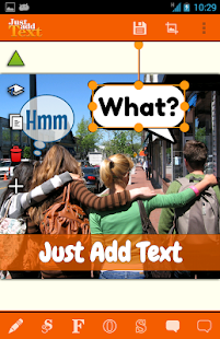 Just Add Text (to photos/pics)- screenshot thumbnail